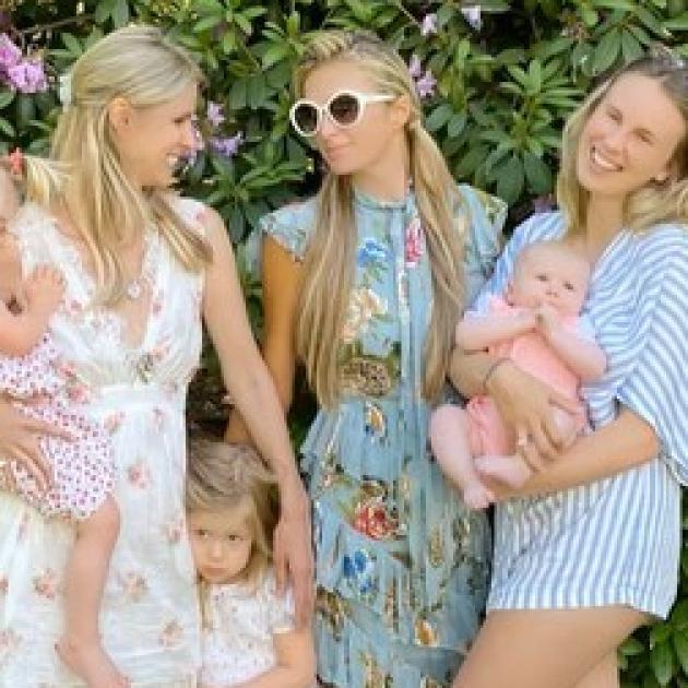 パリス・ヒルトン、「家族が大好き」と歓喜! 妹ニッキー、義妹テッサ&姪っ子たちと久々の再会を果たす - セレブニュース | SPUR
