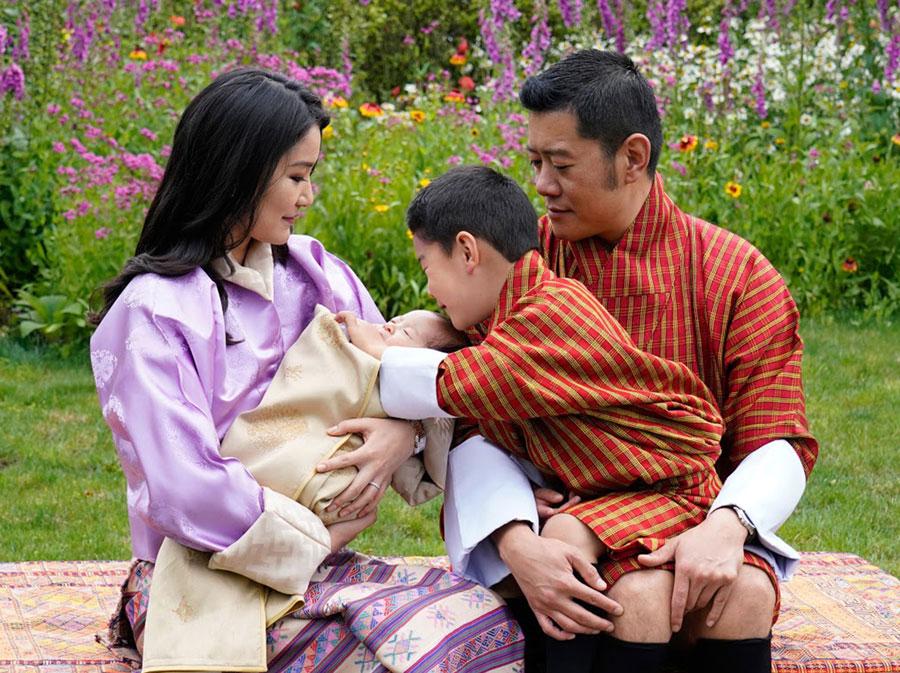 Photo:Royal Family of Bhutan/Action Press/アフロ