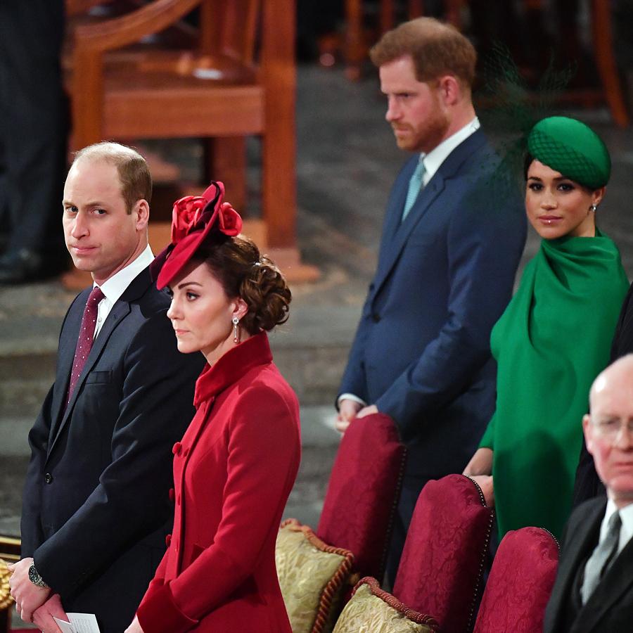 不仲説が噂されるウィリアム王子夫妻とヘンリー王子夫妻。