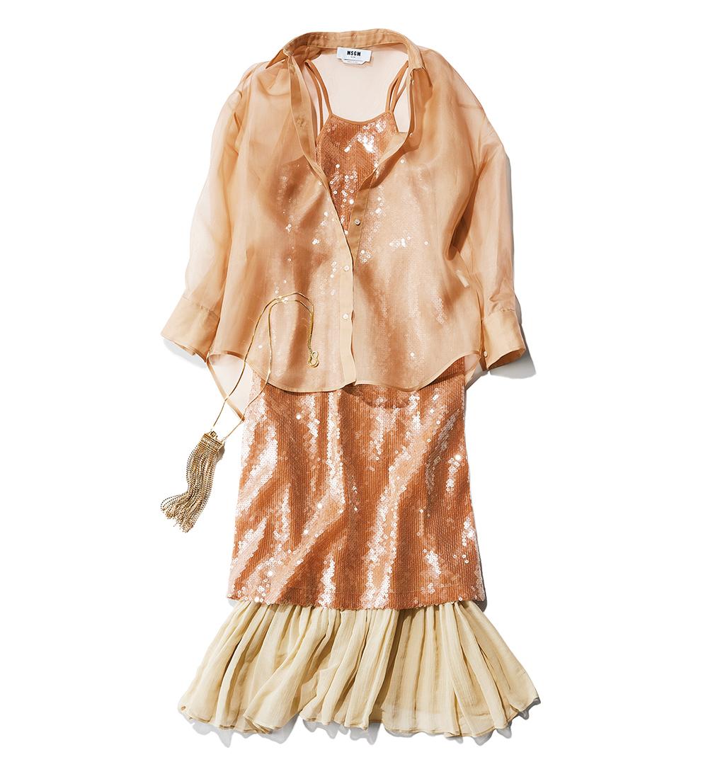 TRANSPARENT DRESS 91