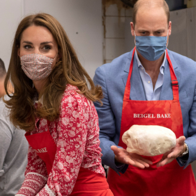 ウィリアム王子夫妻、インスタグラムの新機能・リールを早くも活用! ベーグル作りのお手伝い動画を公開