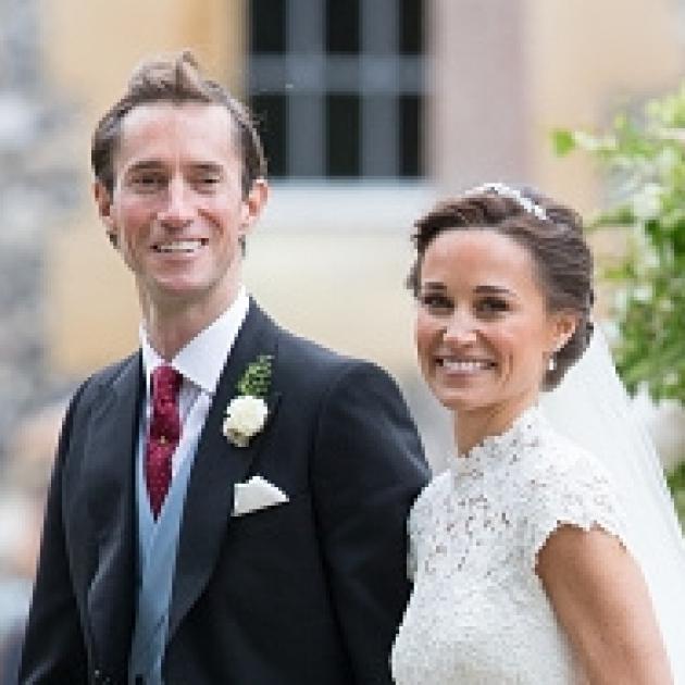 ジョージ王子&シャーロット王女の姿も! ピッパ・ミドルトンの美しいウェディング写真を一挙公開