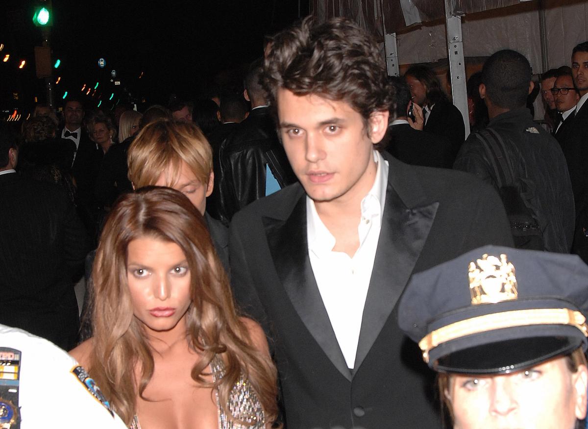 ニックと離婚後、2007年頃に交際していたジェシカとジョン。