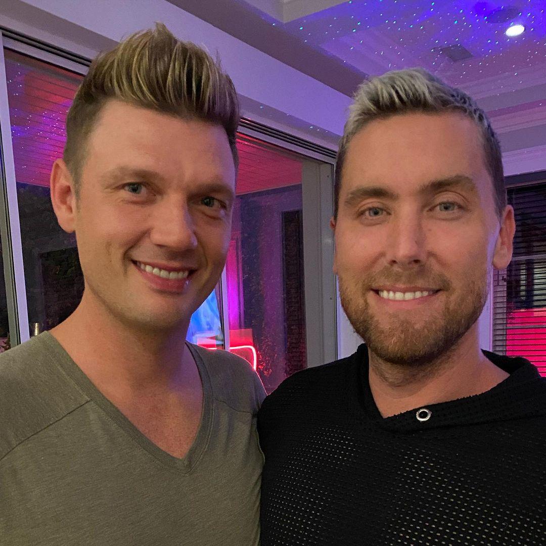 ニック(左)とランス(右)はお互いのSNSに2ショット写真を投稿し合う仲。