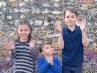 もうすぐ2歳のルイ王子も懸命に拍手!英ロイヤルキッズ3人が、医療従事者に感謝を捧げる動画に出演