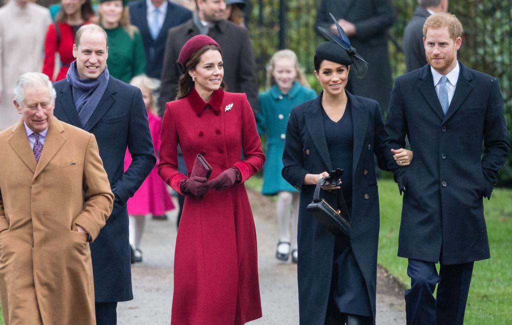 クリスマスの礼拝では過去にウィリアム王子夫妻とヘンリー王子夫妻が同席したことも。