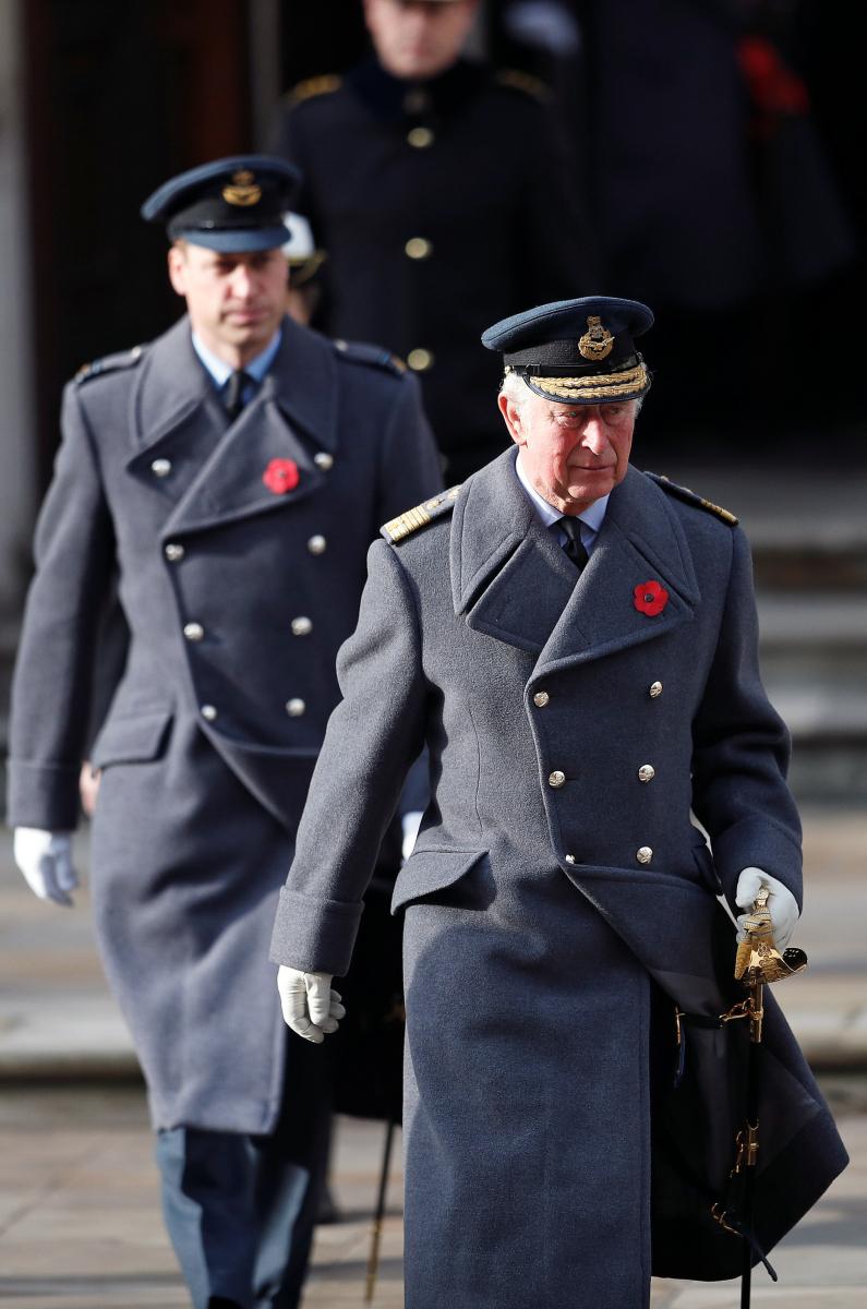 チャールズ皇太子やウィリアム王子も出席。