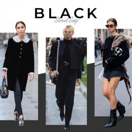 【オールブラック】エターナルな全身黒スタイルの最新形は?