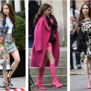 ドラマも恋も絶好調!リリー・コリンズのファッションチェック!『エミリー、パリへ行く』から私服のデニムスタイルまで