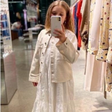 ハイセンスはママ?パパ?譲り! ハーパー・セブン・ベッカムのファッションチェック - セレブリティスナップ | SPUR