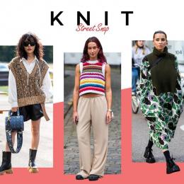 初秋のニットスタイル、ファッション賢者はどう着てる?