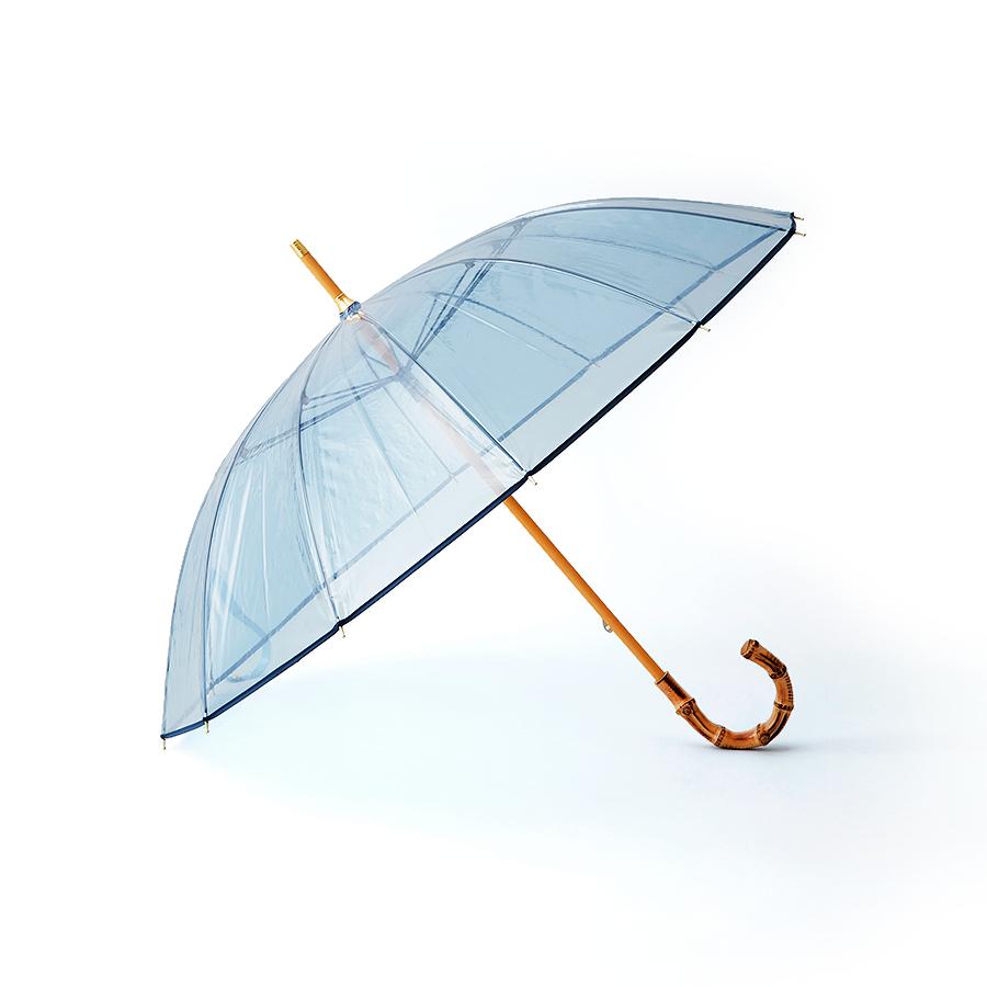 """高級感が漂う""""ビニール""""傘を堪能【トラディショナル ウェザーウェア】"""