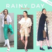 【セルフスナップ】 雨の日をおしゃれに乗り切るコツを教えて!