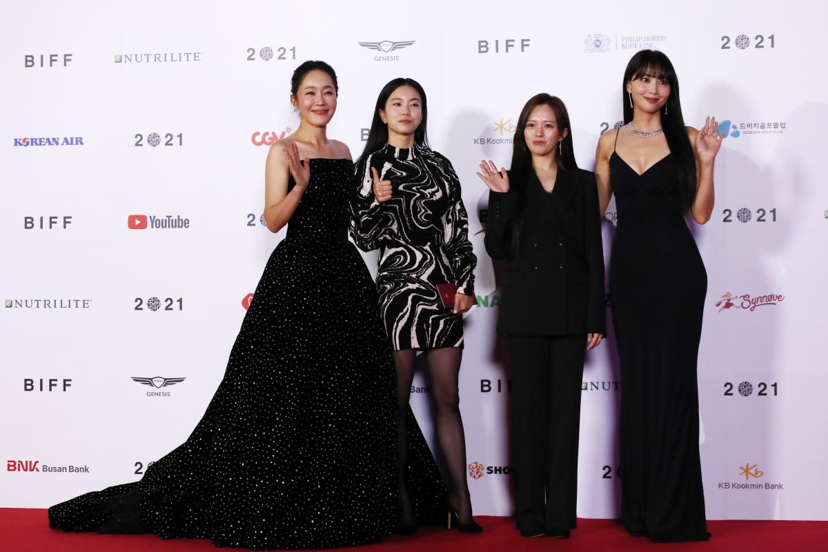 4人の女優がまとうそれぞれのレッドカーペットルック