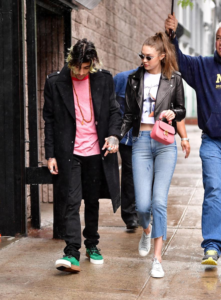 【2017年5月13日】雨の中、ブルックリンの街中でデート中