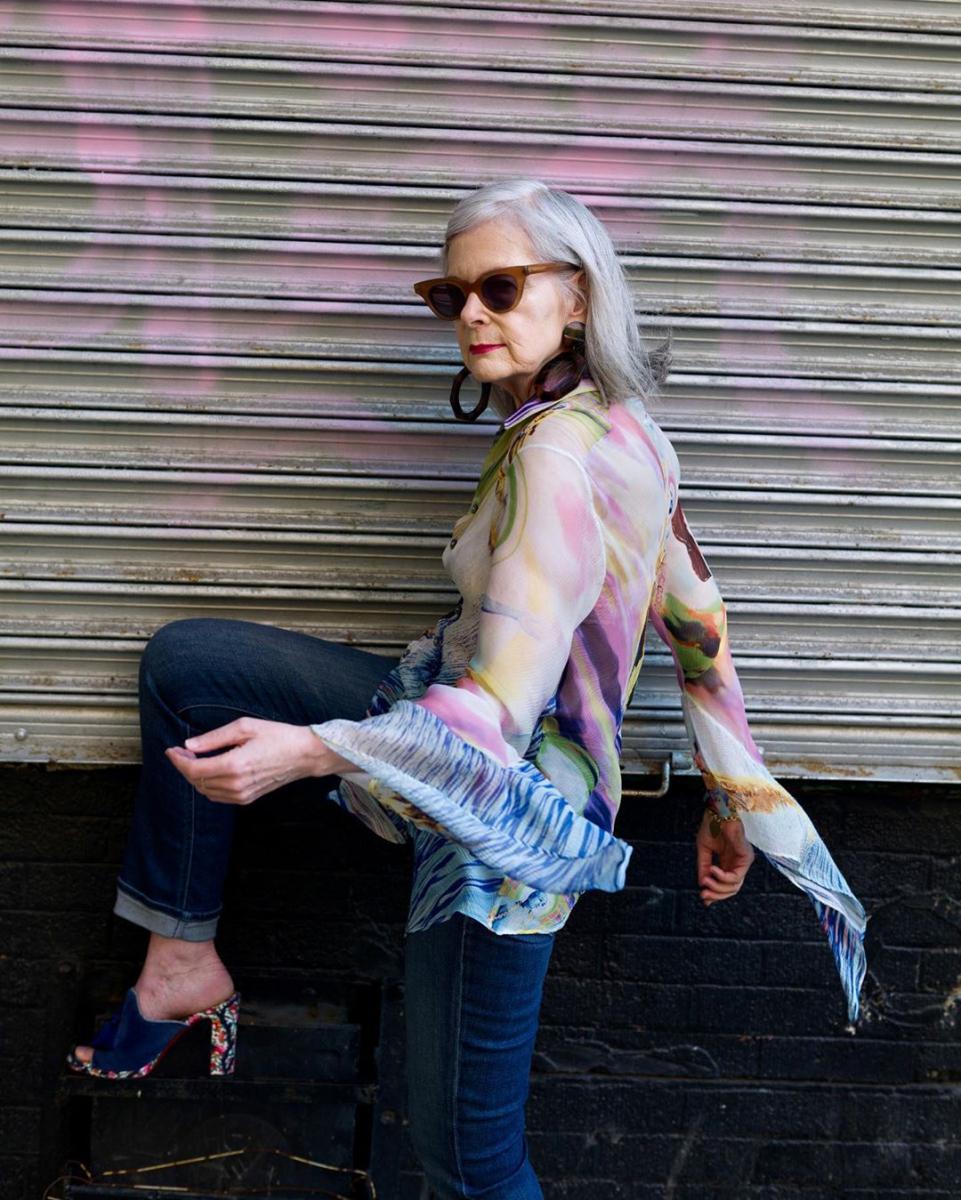 【リン・スレーター】大学教授からファッションブロガーの道へ