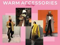 【あったか冬小物】スタイリングのアクセントにも! ニット帽、マフラーなどの防寒アイテム
