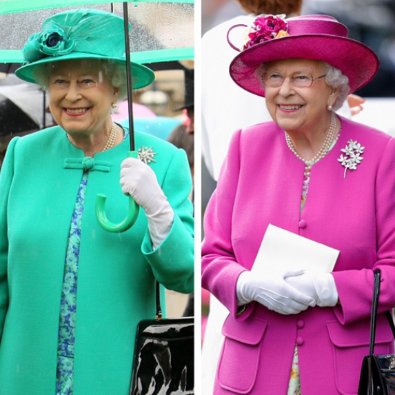 英王室一のファッショニスタ! 小物や色使いの達人、エリザベス女王のロイヤルファッション - セレブリティスナップ | SPUR