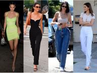 シンプルスタイルを追求! ケンダル・ジェンナーのタイトファッションを夏ルックの参考に