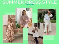 【サマードレス】ロマンティックに着る、夏のドレス