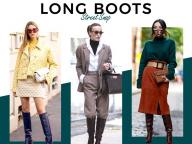 【ロングブーツ】パンツにもスカートにも、今秋の足もとのマストアイテムはこれだ!