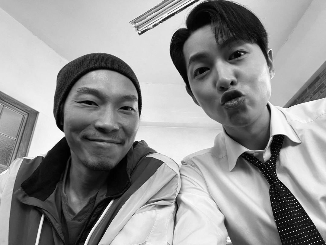 同事務所ギョンウォンとの尊いツーショット