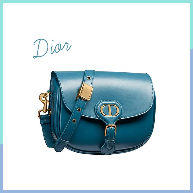 洗練を極めた鮮やかなブルーバッグ【Dior】