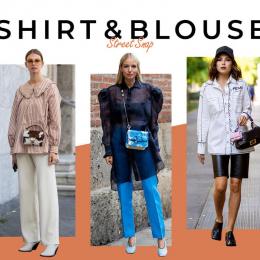 【シャツ&ブラウス】主張するデザインで、トップにインパクトを