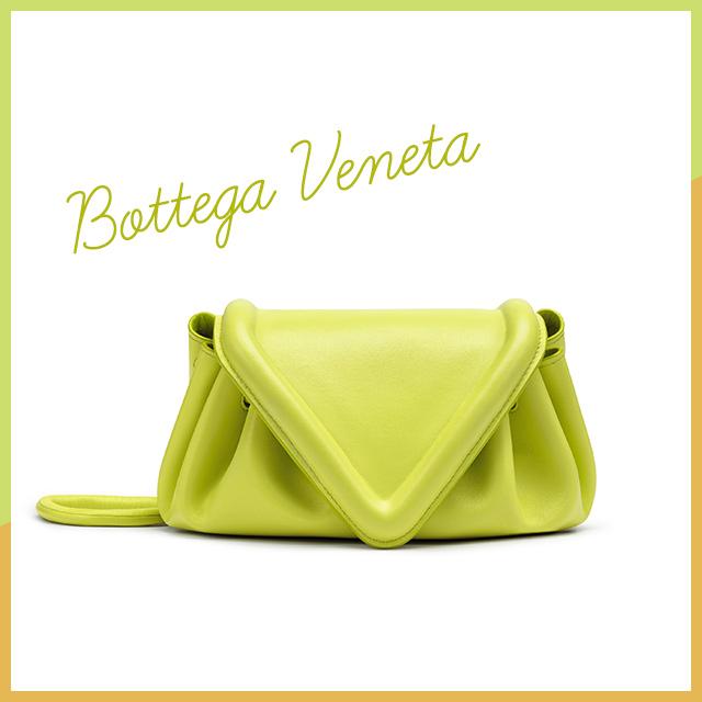 トライアングルフラップの新作バッグ【Bottega Veneta】