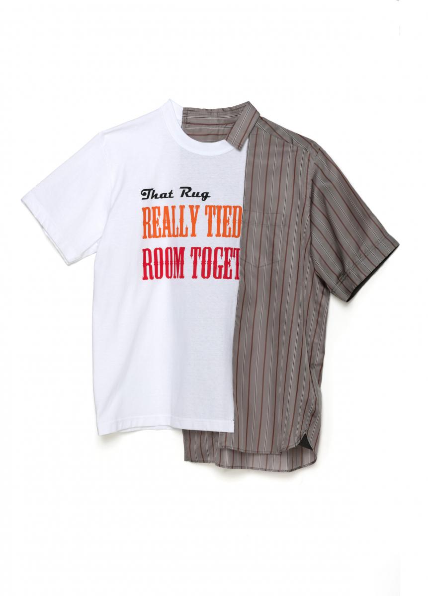 メンズTシャツ ¥39,000/sacai(サカイ x ビッグ・リボウスキ)