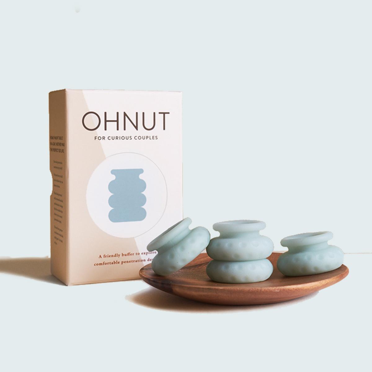【Ohnut】性交痛を軽減するもちもちリング
