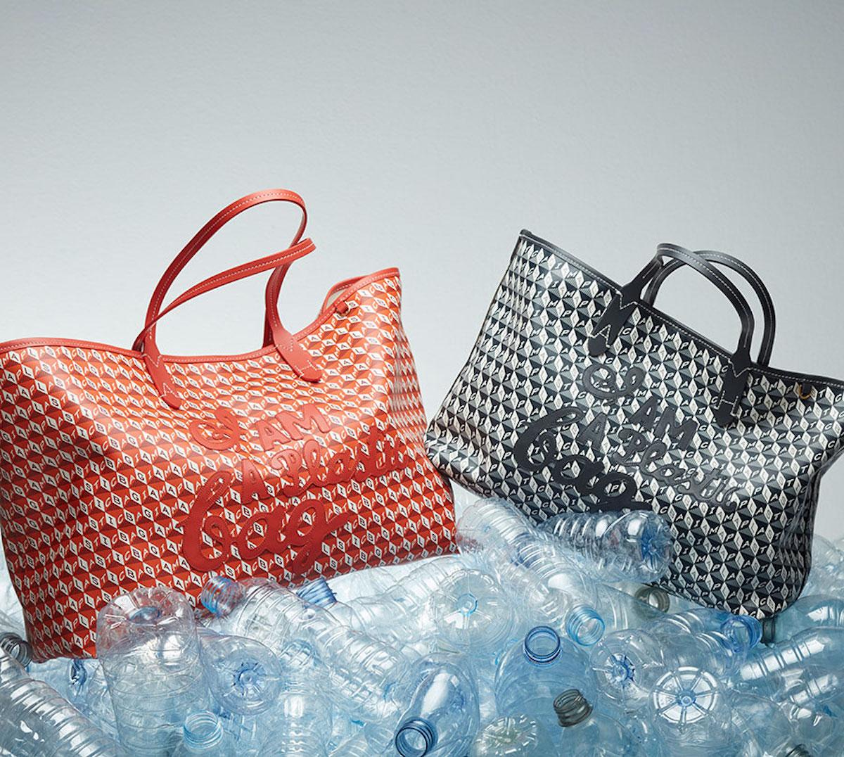 I Am A Plastic Bag Motif Tote /アニヤ・ハインドマーチ ジャパン