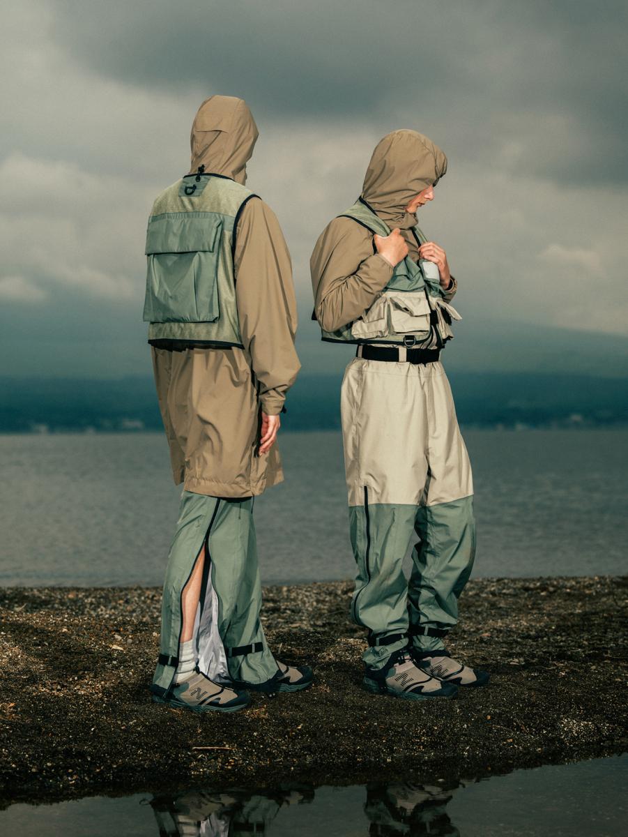 スノーピーク × 東京デザインスタジオ ニューバランス ニオビウム カプセルコレクション