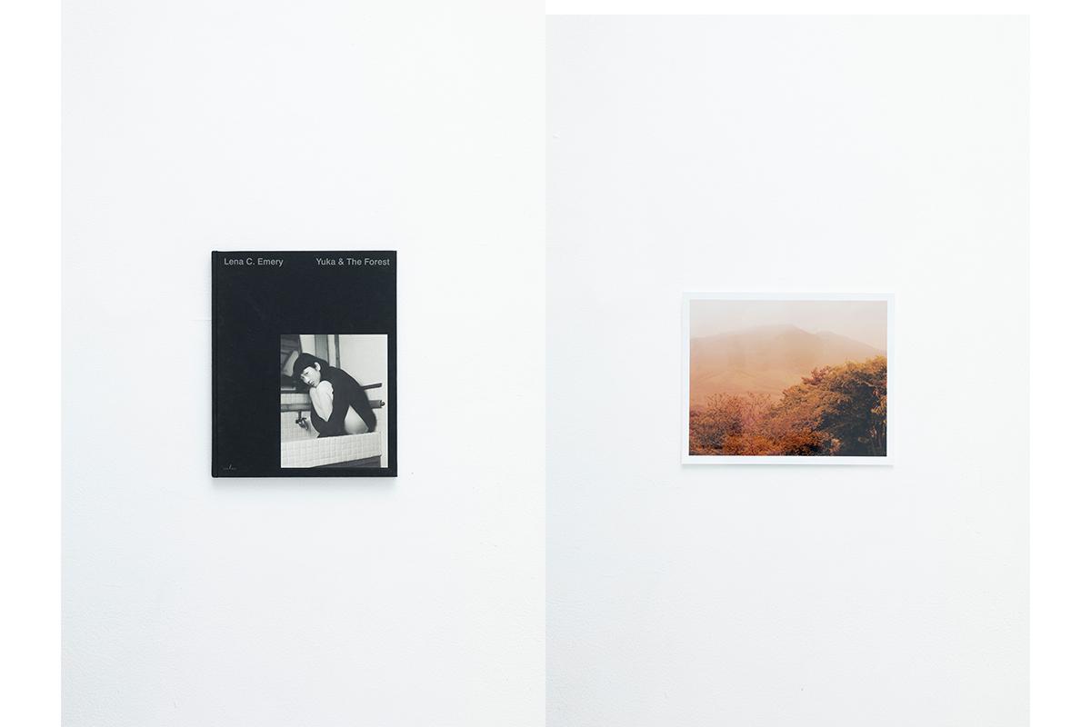 Yuka & The Forest Lena C. Emery ¥12,500、Yuka & The Forest Framed Print Lena C. Emery ¥44,000/エドストローム オフィス(トゥ エ モン トレゾア)