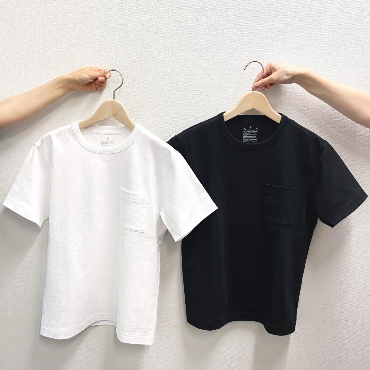 さらにアフォーダブルなプライスに! 色&サイズ違いで揃えたいポケット付きTシャツ