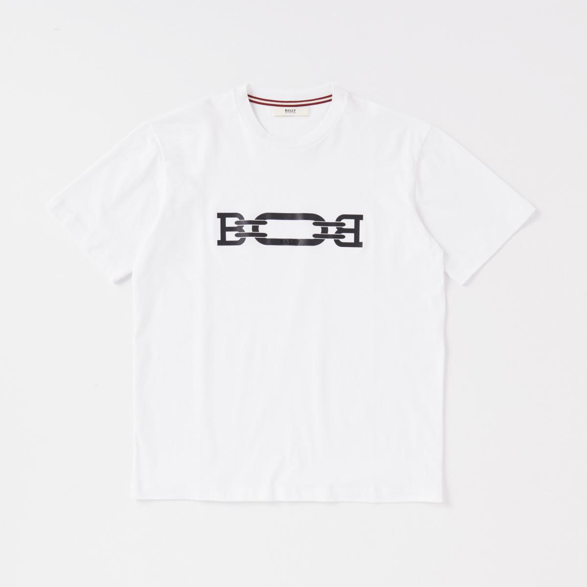 上品なメンズTシャツをまとう【バリー】