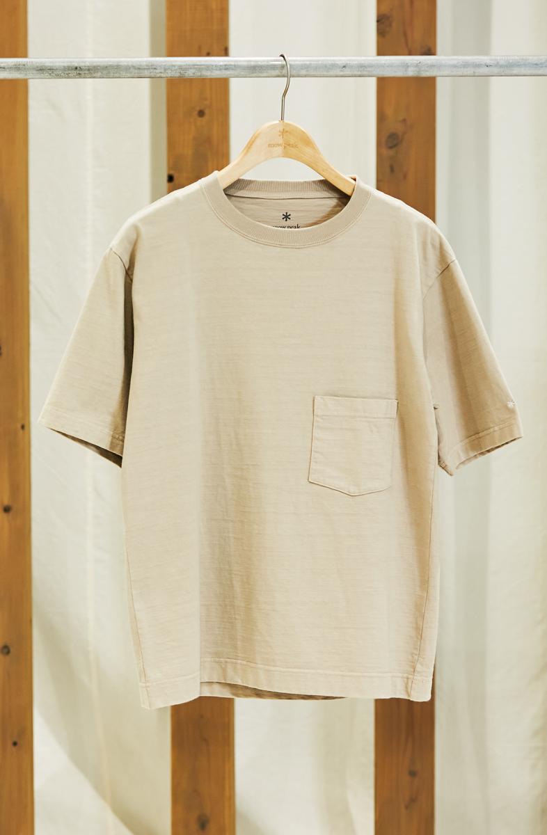 古着がベース。オーガニックコットンのヘビーオンスTシャツ