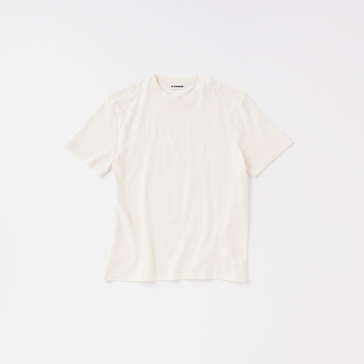 極上の着心地を叶える白Tシャツ【ジル サンダー+】