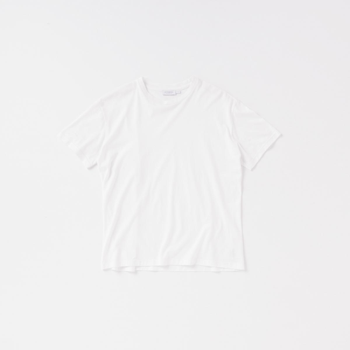 白Tシャツこそ上質な一枚を【サンスペル】
