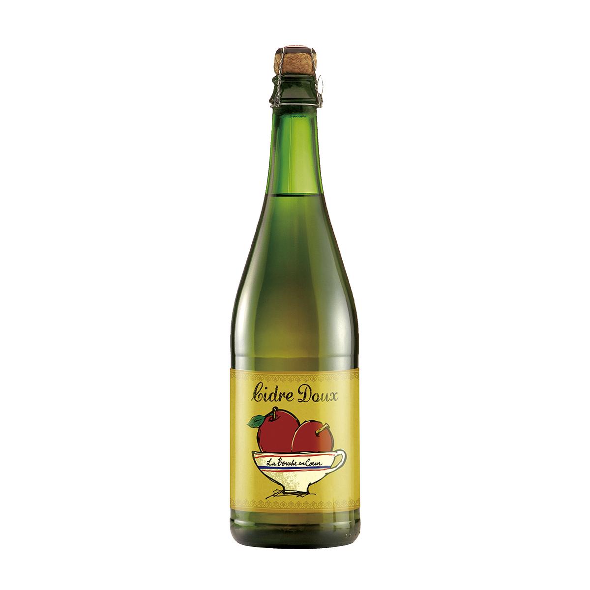 フランスの食中酒「ラ・ブーシュ・オン・クール シードル・ドゥー」(エディターAリコメンド)