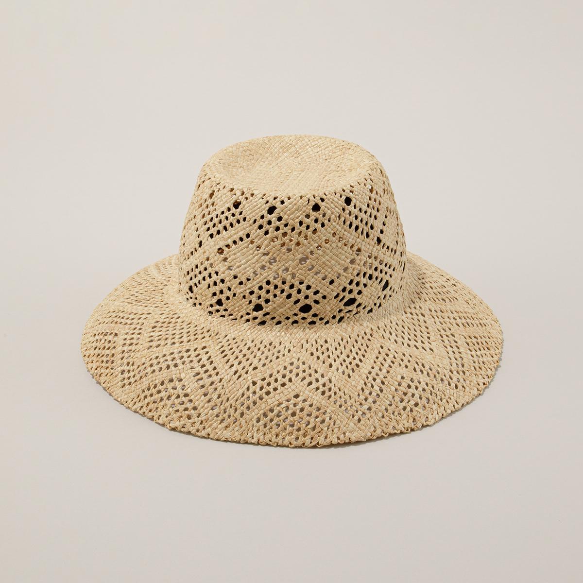 ラフィア帽がもたらすユーティリティー【メゾンドリリス】