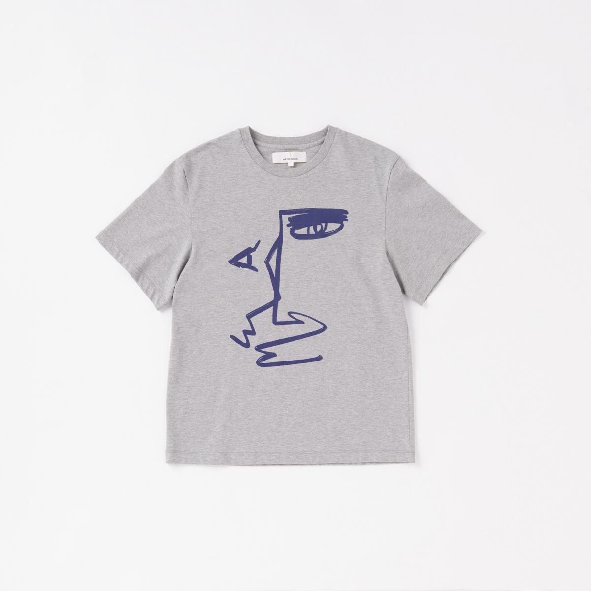 巨匠の絵画を彷彿とさせるプリントTシャツ【アキラナカ】
