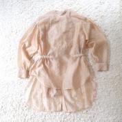 端境期にちょうどいい!オーガンジーのドレスシャツ  #深夜のこっそり話 #1323