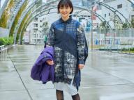 スタイリスト早川すみれさんが提案するAIGLE×KOCHÉのモダンなケミストリー