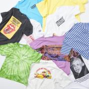 ファッション特集 この夏毎日着たくなる!  31のTシャツ・アラモード。