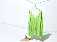 【トレンドカラー】夏のクローゼットに爽やかなグリーンをひとさじ