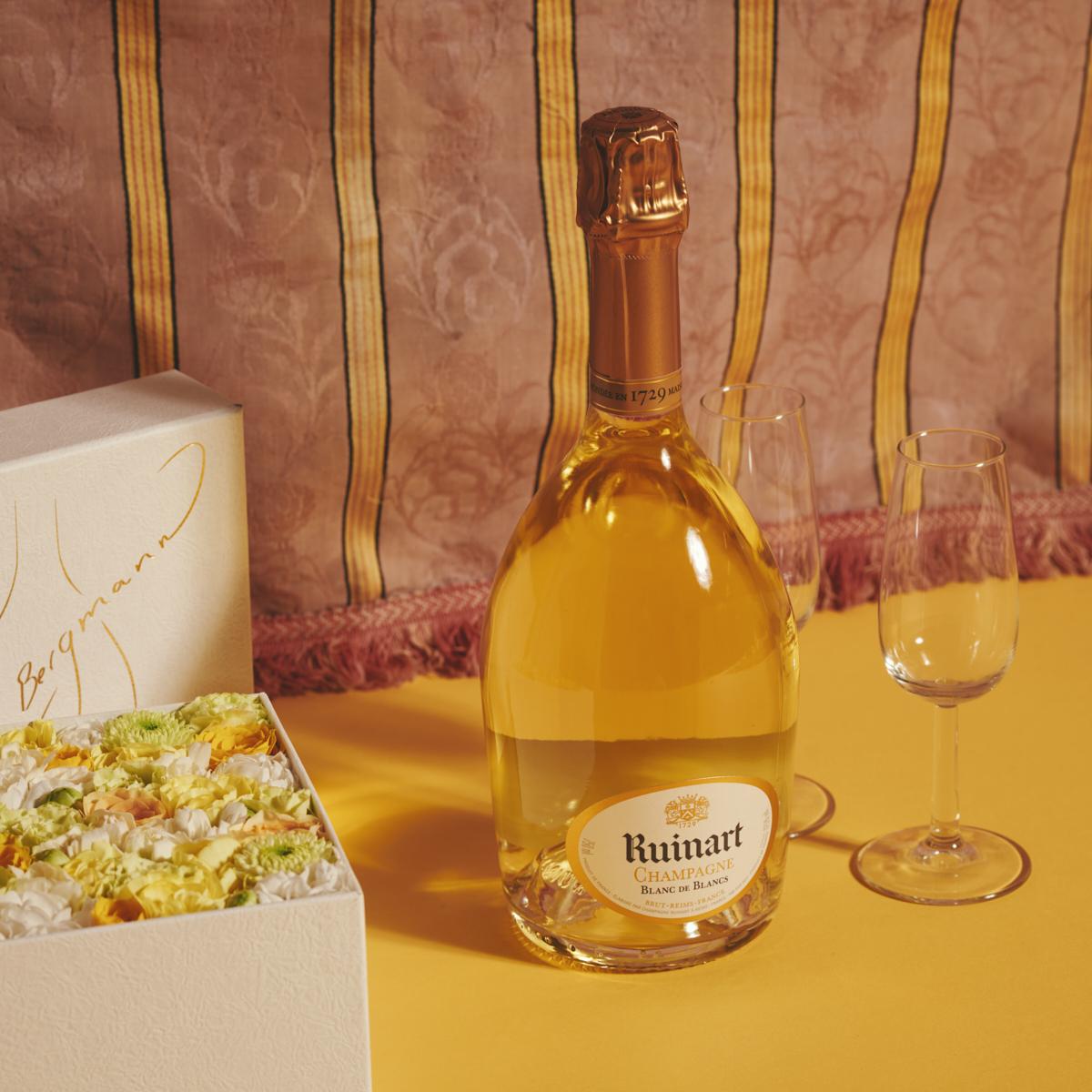 フラワーとシャンパーニュで乾杯!