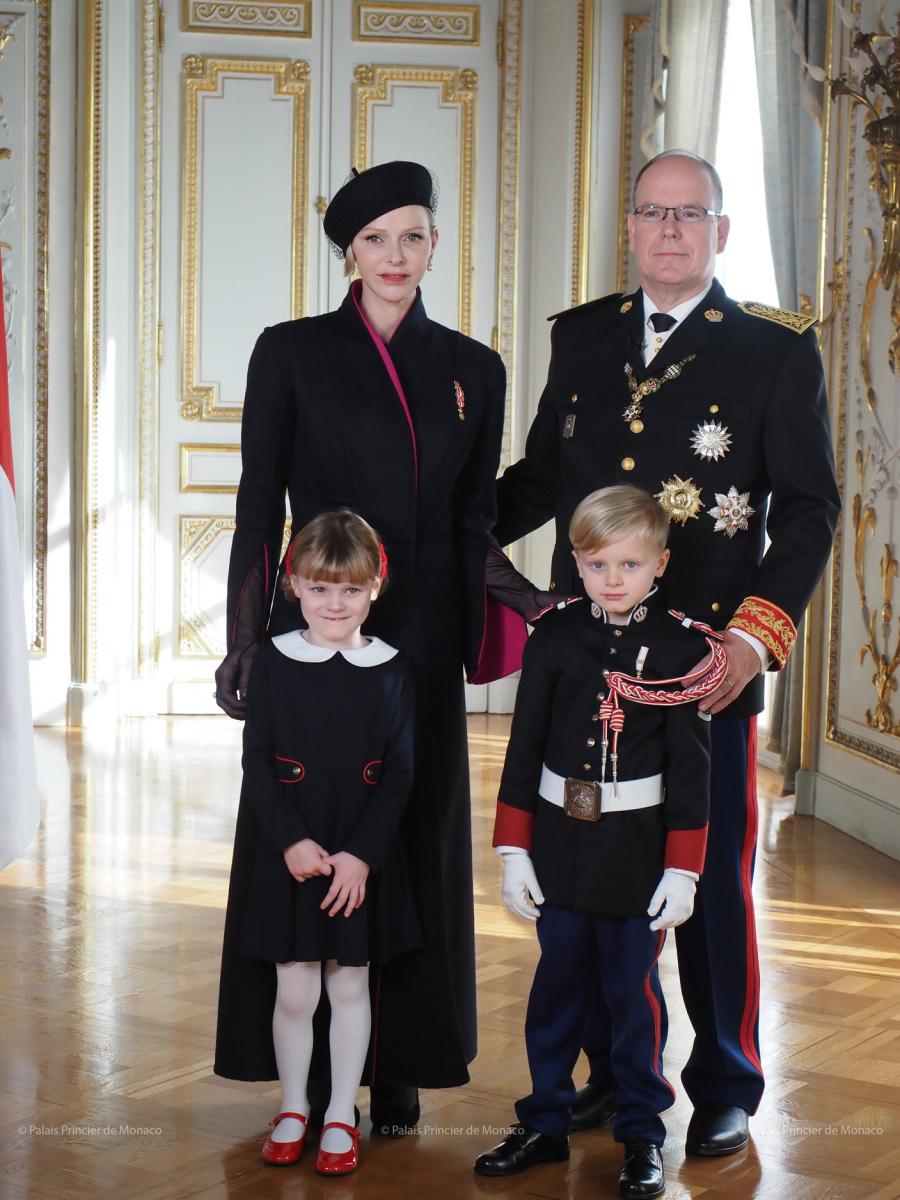 モナコのアルベール2世国王一家/センス溢れるキッズファッションも話題
