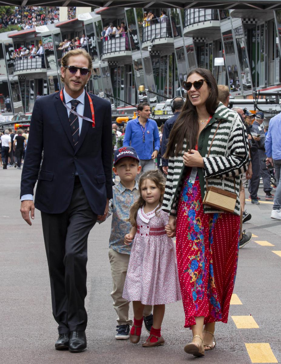 モナコのアンドレア・カシラギ一家/自由なファッションスタイルが注目の的