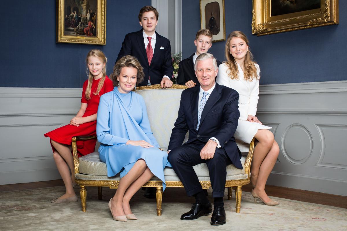 ベルギーのフィリップ国王一家/ベルギー史上初となる未来の女王に注目!